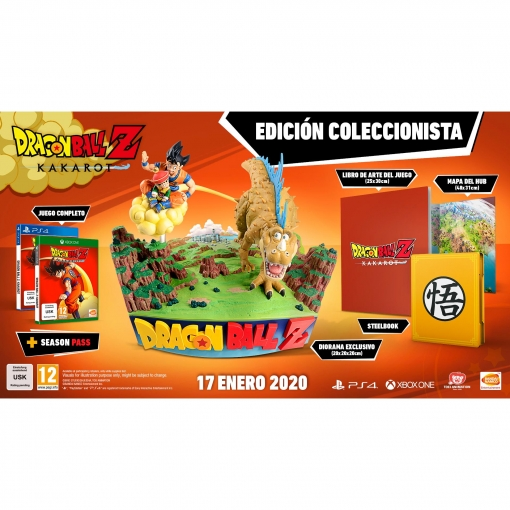 Dragon Ball Z Kakarot Collector Edition para PS4