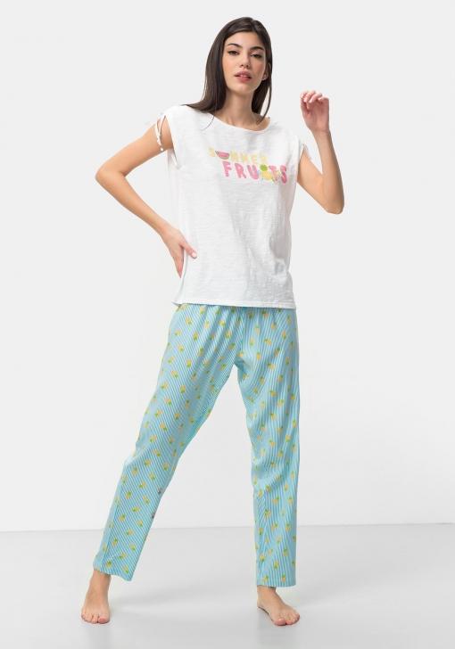 Pantalón largo de pijama para Mujer TEX