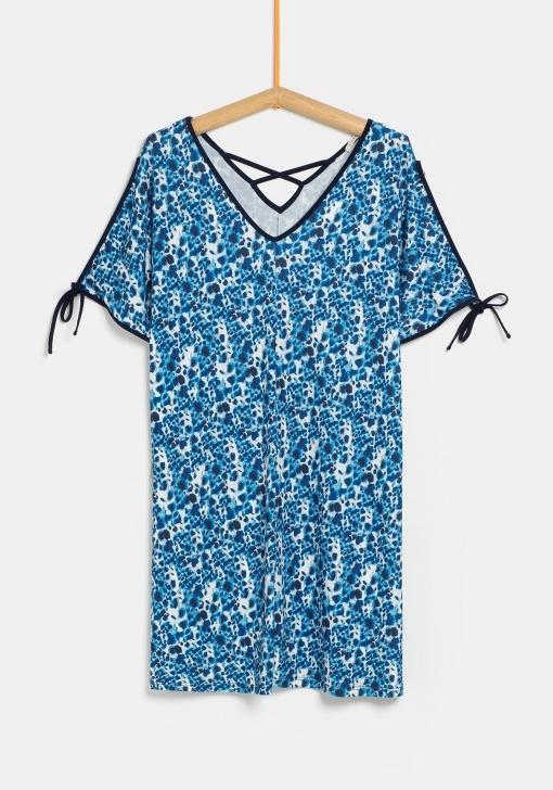 Vestido Estampado Para Tallas Grandes De Mujer Las Mejores Ofertas En Moda Carrefour Es