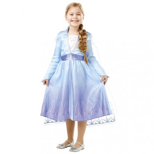 Disfraz Elsa Travel Frozen 2 Classic Infantil 5 a 6 Años