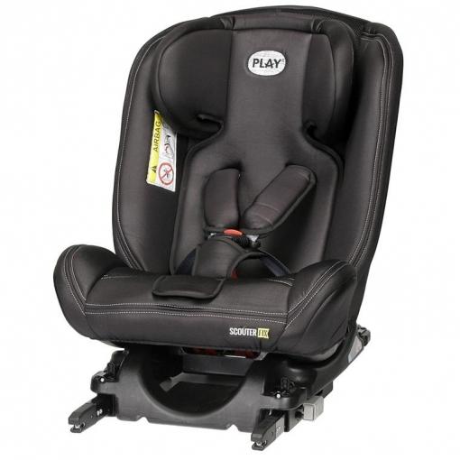 silla de coche grupo 0 1 2 3 scouter isofix con top tether