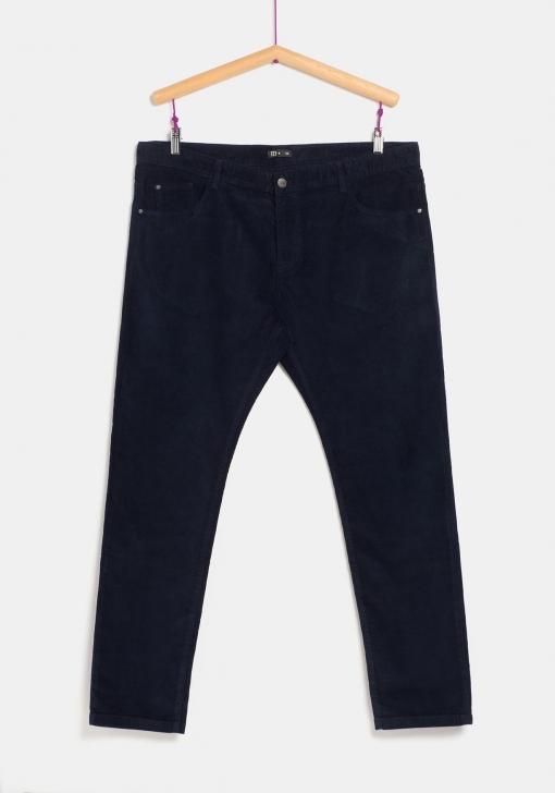 Pantalon De Pana Para Tallas Grandes De Hombre Tex Las Mejores Ofertas En Moda Carrefour Es