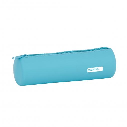 Portatodo redondo Safta silicona azul