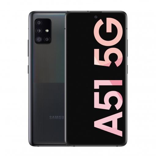 Samsung Galaxy A51 5G 6GB de RAM + 128GB - Negro Carrefour