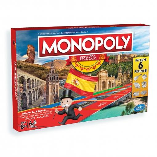 Monopoly Monopoly Espana Juego De Mesa Familiar Las Mejores