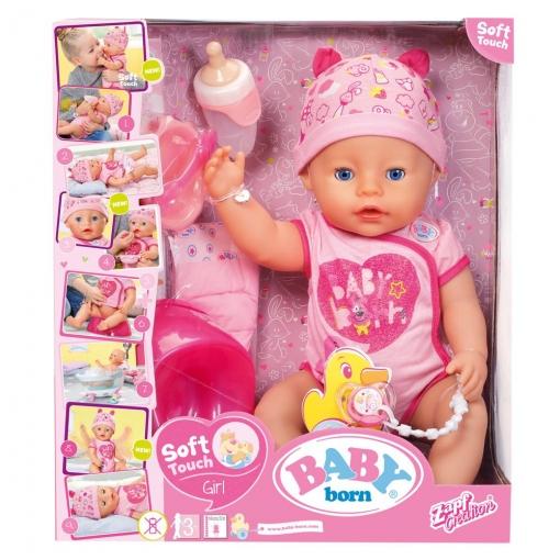 Baby Born - Niña Ojos Azules