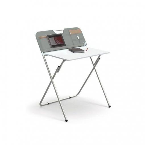 mesa plegable de ordenador gris las mejores ofertas de