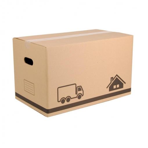 Caja de ordenaci n de cart n 29 x 49 5 x 28 5 cm marron las mejores ofertas de carrefour - Cajas de ordenacion ...