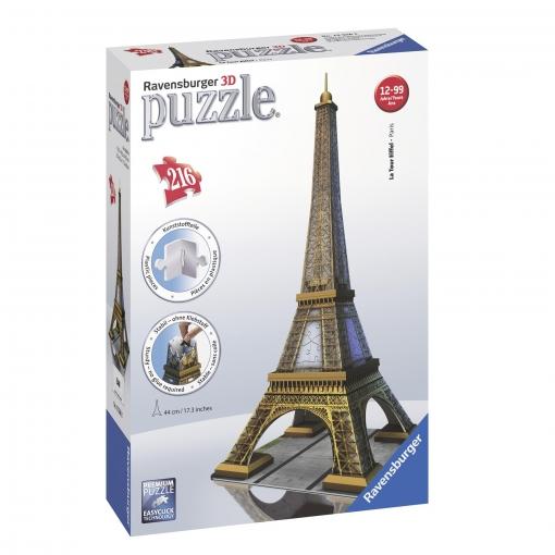 Eiffel 3d Torre Ravensburger Torre Ravensburger Eiffel Puzzle Puzzle 3d TlF13uKJc