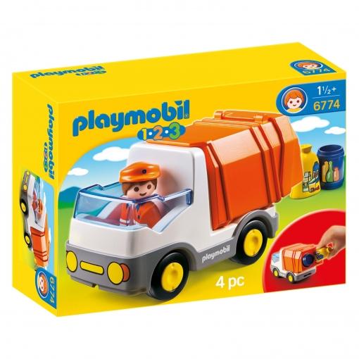 Playmobil - 1.2.3 Camión de Basura