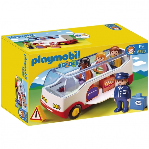 Playmobil - 1.2.3 Autobús