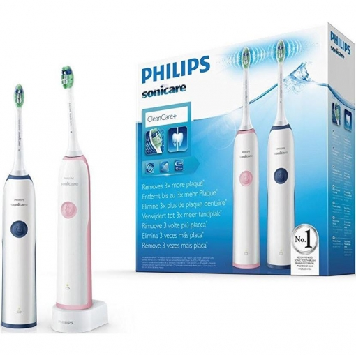 Pack Duo Cepillo Dental Electrico Philips Sonicare Cleancare