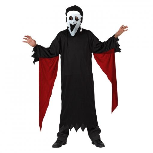 Disfraz de Fantasma T-3 Picos en Mangas Rojas
