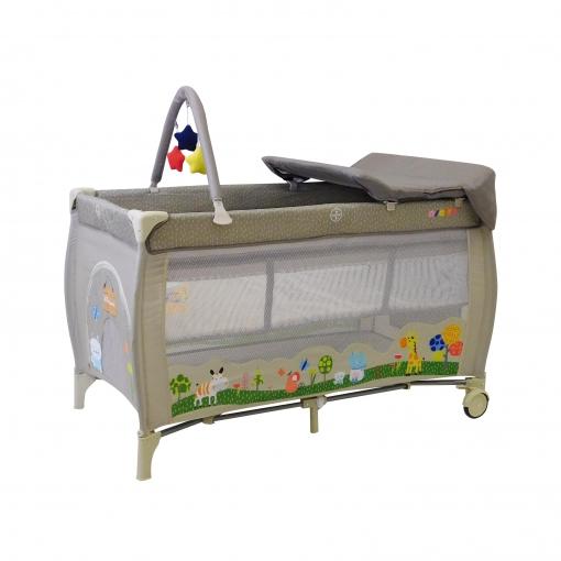 Cuna de viaje completa Asalvo Baby | Las mejores ofertas de Carrefour