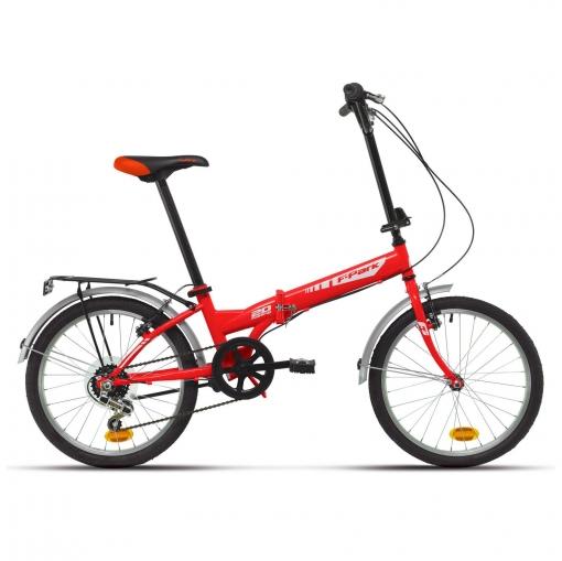 "Bicicleta Plegable 20"" Roja"