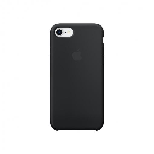 Funda Silicone Case para el iPhone 8/7 - Negro - Apple (ES)