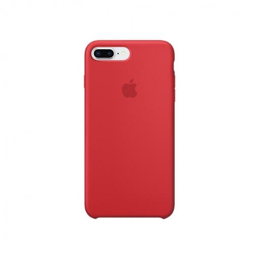 2344d467bd8 Funda de Silicona para iPhone 8 Plus/7 Plus - Rojo | Las mejores ofertas de  Carrefour