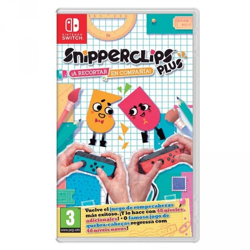 Snipperclips Plus A Recortar En Compania Para Nintendo Switch