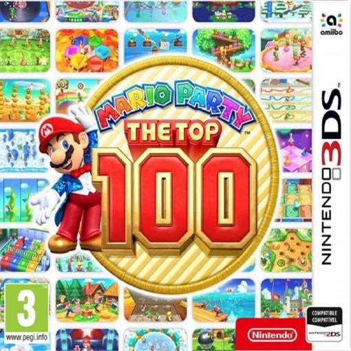 Mario Party: Top 100 para 3DS