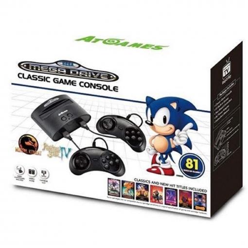 Consola Retro Sega Mega Drive 81 Juegos Negro Las Mejores