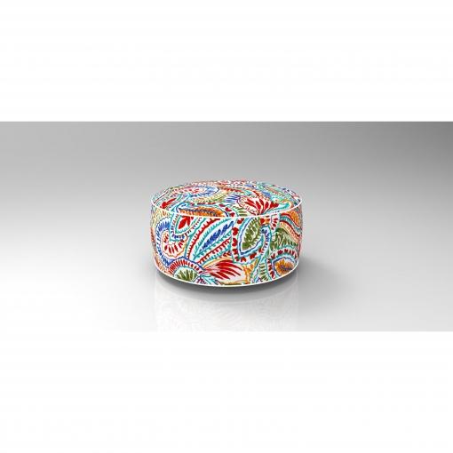 Puff Hinchable Hojas Colores   Las mejores ofertas de Carrefour