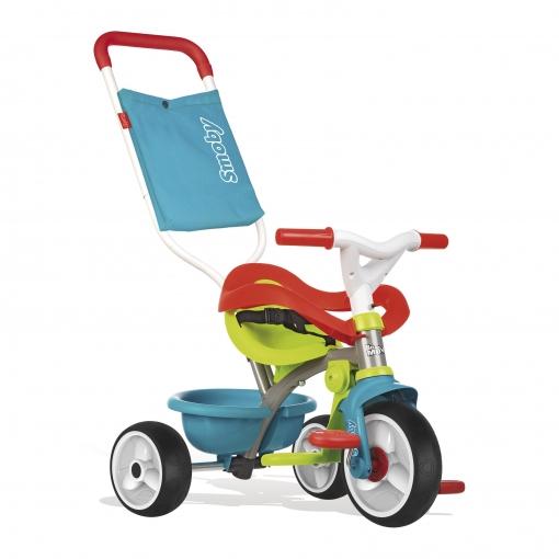 Be De Triciclo Ruedas Azul Silenciosas Smoby Move Goma Confort 0NynwP8Ovm