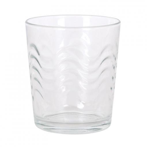 Set 6 Vasos Agua HOME STYLE New Lena 28 cl  -Transparente