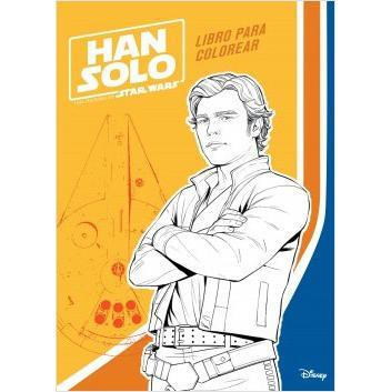 Han Solo. Libro para Colorear. STAR WARS | Las mejores ofertas de ...