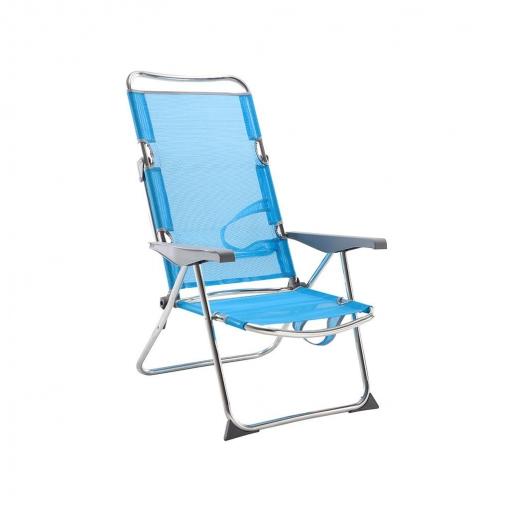 7c9f012b4 Silla Playera-Cama Azul Carrefour | Las mejores ofertas de Carrefour