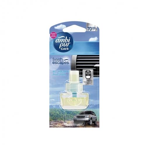 Ambientador Ambipur Car Refill Sky Airefresco 7Ml