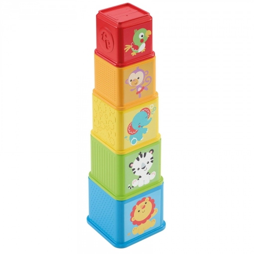 Fisher-Price - Bloques Apila y Descubre