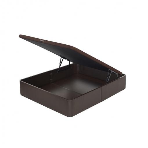 Abatible Polipiel Flex Tapa 3D 105x200cm-  Marrón
