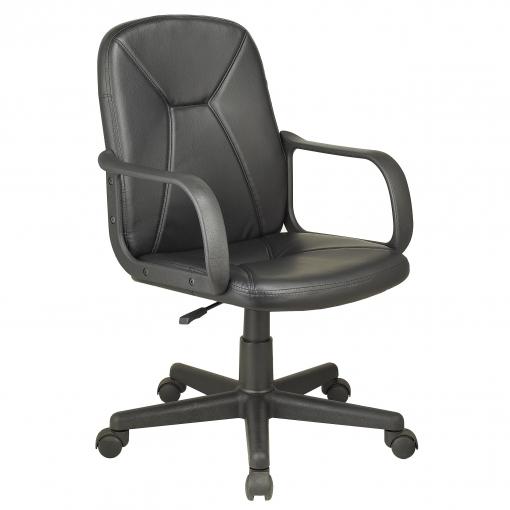 Sill n director de polipiel g nesis 100cm negro las for Ofertas de sillas de oficina en carrefour