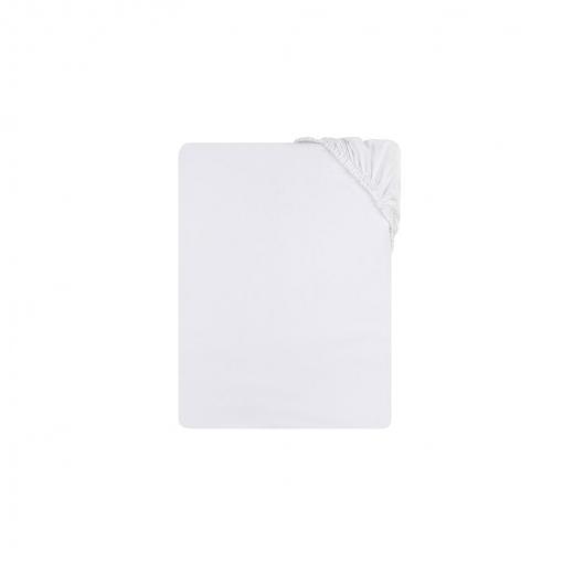 pack 2un. S/ábana bajera ajustable blanca cuna 60x120+15cm