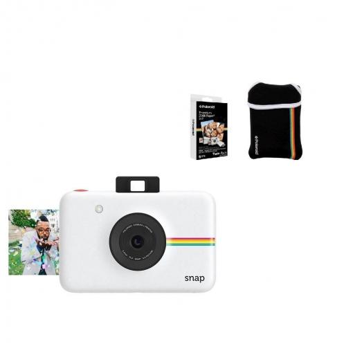 Cámara Digital Instantánea Polaroid Snap - Blanca   Las mejores ... 53efc9c835