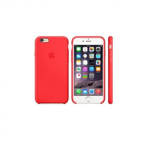 866f1ebfaa0 Funda de Silicona para Iphone 6 s - Roja | Las mejores ofertas de ...