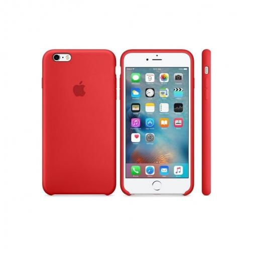 aa363ed3abd Funda de Piel para Iphone 6 Plus s - Roja | Las mejores ofertas de ...