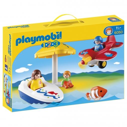 Playmobil - 1.2.3 Diversión en Vacaciones