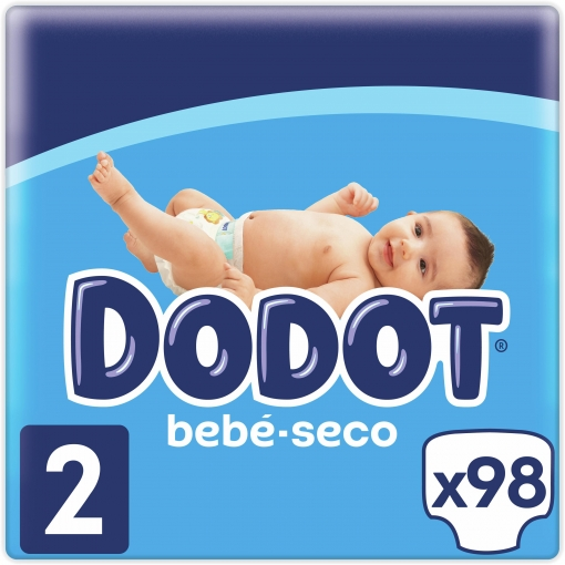 Pañales Dodot T2 (4kg-8kg.) 112 ud.