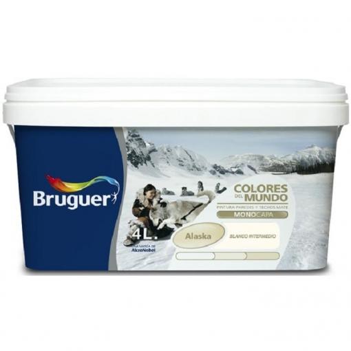 Pintura Bruguer Colores Del Mundo Alaska Blanco Intermedio 4 L Las Mejores Ofertas De Carrefour