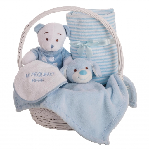 Cesta Regalo Baby Oso Little Kids