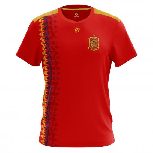 Camiseta RFEF 1º Equipación Mundial 2018 Talla L  78fe00d7048