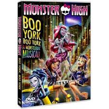 Cd. Bso. Monster High Boo York Boo York