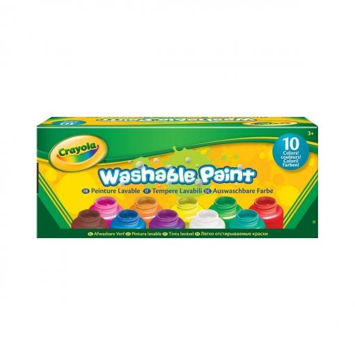 10 Pots De Peinture Lavable   Las mejores ofertas de Carrefour