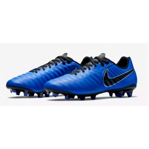 230b6348b4f76 Botas De Fútbol Nike Tiempo Legend 7 Series Academy Fg Azul negro Adulto