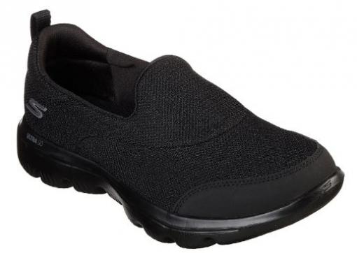 ético Tropezón Más temprano  Zapatilla Mujer Skechers Go Walk Evolution Ultra-reach. 15730/bbk. Talla 37  con Ofertas en Carrefour | Las mejores ofertas de Carrefour