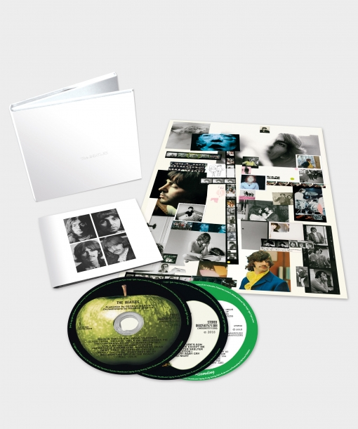 3cd. The Beatles. White Album -anniversary 3cd Edi | Las mejores ...