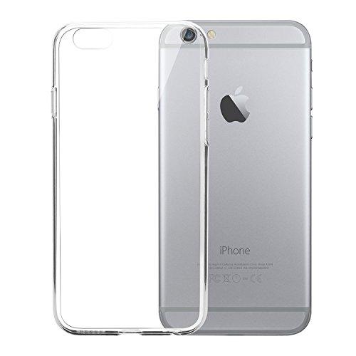 Funda Silicona Iphone 6 Plus Y 6s Plus, Transparente, Gel