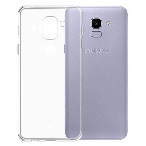 447d8654c38 Funda Silicona Samsung Galaxy J6 ( Gel Tpu 0.33 Mm ) Transparente ...