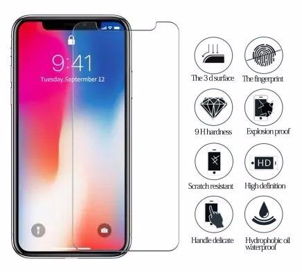 f2a1c0f3964 Protector De Pantalla Cristal Templado Iphone Xs Max ( 9h 2.5d Pro+ ) Con  Toallitas con Ofertas en Carrefour | Las mejores ofertas de Carrefour